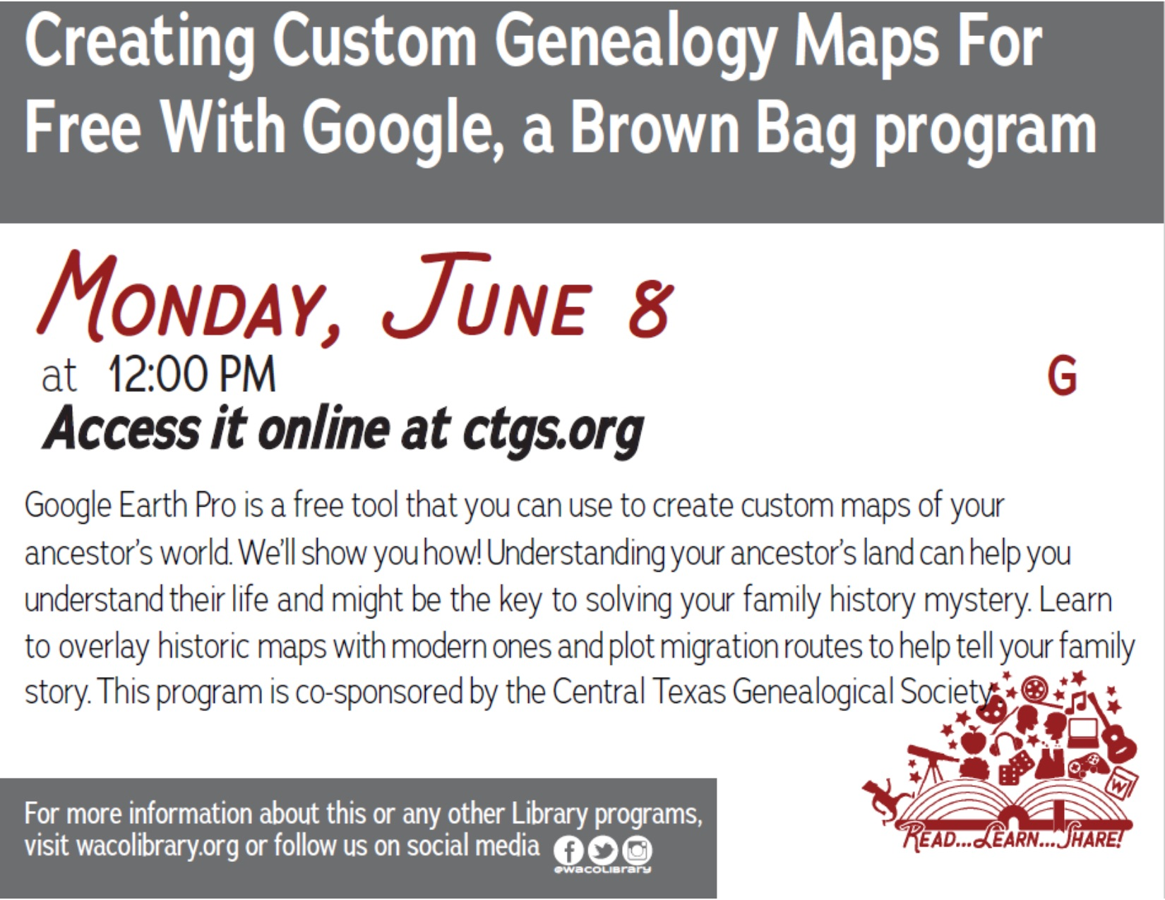 Creating Custom Genealogy Maps for Free with Google